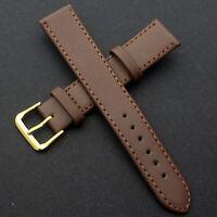Fashion Vintage Brown Leather Wrist Watch Band Watch Strap Bracelet 8mm