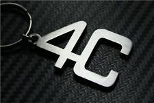 For Alfa romeo 4C keychain keyring Schlüsselring porte-clés SPIDER GT CAR SPORT
