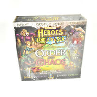 Heroes of Land, Air & Sea Board Game 5-6 player expansion order & chaos NEW