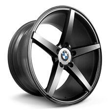 4 X BMW Alloy Wheels Rim Sports Mags 18x8 18x9 5X120 ET32/35 FLAT BLACK