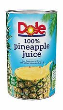 Dole Pineapple Juice 46 Ounce (Pack of 6) 46 Ounce (Pack of 6) Free Shipping