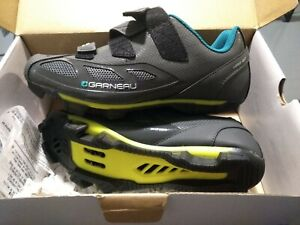 New Garneau Women's Multi Air Flex Gray Cycling Biking Shoes Size EU 38 US 7