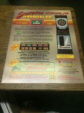 Merit SCORPION STINGER '94 UNEQUALED Dart Flyer- good used original