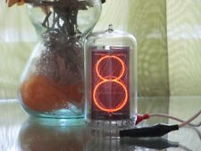 1 x Z568M (Z5680M) nixie tube (TESTED) NEW & NOS (clear glass)  IN-18