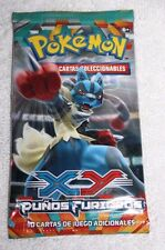 Pokemon XY Furious Fists Spanish Booster Pack Punos Furiosos X2 2 Packs