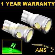 2X W5W T10 501 XENON VERDE 3 LED SMD LUCE LATERALE LATO LAMPADINE HID SL101105