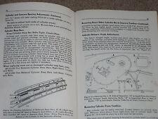 Original John Deere Model 12A Combine Sn 107212-Up Operators Manual