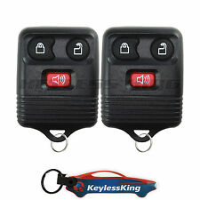 2x Replacement for Ford Freestar 2004 2005 2006 2007 Keyless Entry Fob Remote