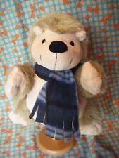 "Aldi stores Hedgehog Hand Glove Puppet Soft Toy 10"" approx"