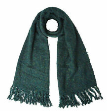 NEW WHITE STUFF SOPHIE GREEN AUTUMN WNTER KINITTED BOUCLE SCARF
