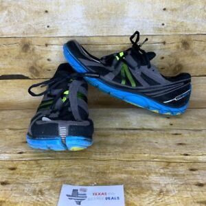 Brooks Pure Connect Mens Lace Up Running Black Blue Shoes Size 10.5 M