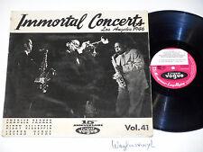 PARKER/GILLESPIE/YOUNG - IMMORTAL CONCERTS: LA 1946, LD 628 30 VOGUE FRENCH PR.