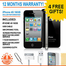 Apple iphone 4S - 16 go-noir (factory unlocked) smartphone