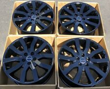 "20"" Range Land Rover Sport OEM Factory 20 Gloss Black Wheels Rims 72196"