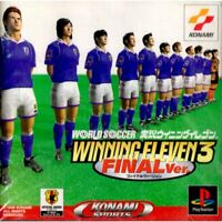 WORLD SOCCER JIKKYO Winning Eleven 3 Final Item Playstation Game p1 PS1