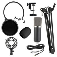 BM700 Profi Studio Mikrofon Set Sound Aufnahme Rundfunk Kondensatormikrofone KTV