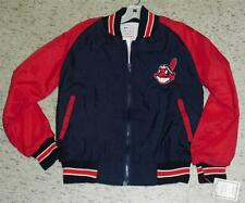 Cleveland Indians youth medium Jacket Vintage 90's Coat w/Tag Mint windbreaker