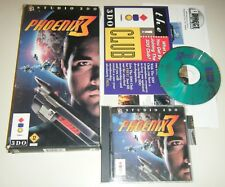 Phoenix 3 (3DO, 1995) COMPLETE GAME for your Panasonic 3DO system LONGBOX