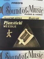 NEW Pfanstiehl 632-D7 Diamond Needle Stylus 632d7 Panasonic Sharp EPS N13D EPC13