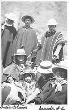 B84910 indios de banos types folklore   ecuador