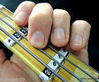 Bass Guitar Fretboard Note Labels Fret Stickers + Online Lessons & Learning Aids for sale