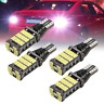 2x T15 W16W 45 SMD 4014 Error Free LED Car Reverse Back Light Bulbs 6000K White