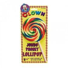 Fake Giant Jumbo LOLLIPOP Clown Baby Girl Fancy Dress Costume Novelty Accessory