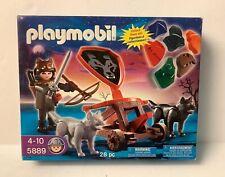 Playmobil 5889 Wolf Knight, 2 Wolfs  & Catapult   - NEW