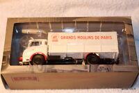 """Camion d'autrefois""""GRANDS MOULINS de PARIS"""" LATIL H14A 1/43 n°34 (no BERLIET)"""