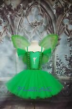 Tinkerbell fairy tutu dress with wings party dress (Tinkerbel, Tinker bell)