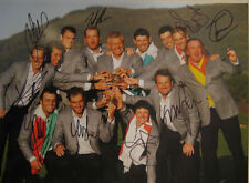 2010 TEAM EUROPE RYDER CUP  Signed 11x14 MCILROY