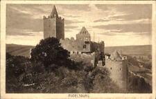 Rudelsburg in Thüringen alte AK ~1920/25 Außenansicht mit Türmen Burgen Motiv-AK