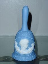 Vintage Blue Collectible Decorative Porcelain Bell