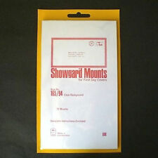 Showgard Stamp Mounts Size 165/94 CLEAR Background Pack of 10