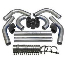 "2.75"" OD Universal Turbo Intercooler Piping Kit DIY  Hose for SR20DET 240SX S13"