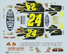 #24 Jeff Gordon Dupont FOLLOW ME Chevy 2010 Decals WINSCAL