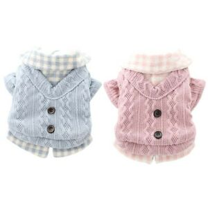 Cat Winter Autumn Chihuahua Costume Pet Clothes Pet Coat Dog Sweater Jacket