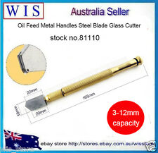 Glass Cutter Cutting 3-12mm Oil Feed Tool Tipped Craft Glazing Blade-81110