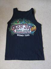 Hombre Chico Azul marino Chaleco Camiseta Singlet Ron Jons Surf Shop Gran Turco FAB condición
