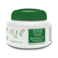 Keune So Pure Natural Balance Color Blonde Lift Powder AMMONIA FREE 500 gr
