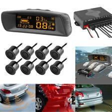 Car LCD Parking Sensor 8 Rear Front View Reverse Backup Front Radar System Kit