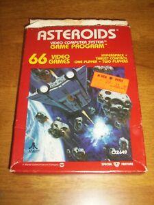 Asteroids for Atari 2600 BOXED