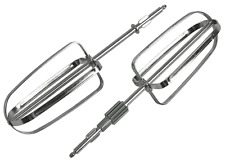KENWOOD PAIR OF 2 WHISKS STAINLESS STEEL FOR MIXER CHEFETTE HM670 HM680