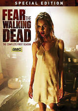 Fear the Walking Dead: Season 1 One (DVD 2016 2-Disc Set) First, Special Edition