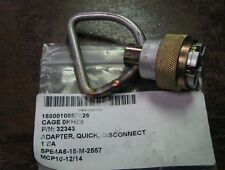 QUICK DISCONNECT ADAPTER, Part # 32343 NSN 1680-01-085-7826 (LOC =A4)