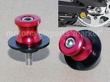 6mm Swingarm Swing Arm Spool Slider Bobbins For Yamaha YZF R25 R3 600 1000 R1 R6