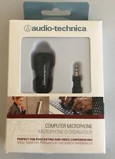 Audio-Technica Omnidirectional Condenser Computer Microphone Brand New