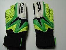 Pre owned Reusch Soccer Goalie Gloves Waorani SG JR Finger Support Size 6 BB7