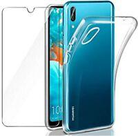 Coque + Vitre Protection écran Verre Trempe Huawei Y6 2019/Prime 2019 Honor 8A