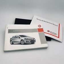 VAUXHALL  ASTRA H & ESTATE  SERVICE BOOK HANDBOOK & WALLET PACK 2004 To 2009